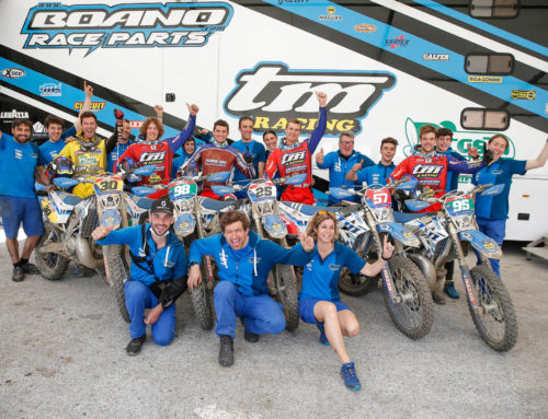 TM Boano Factory Team gearing up for 2021 EnduroGP season